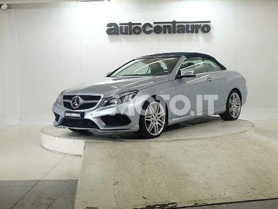 usata Mercedes 350 Classe E CabrioBlueTEC Cabrio Automatic Premium del 2015 usata a Busto Arsizio