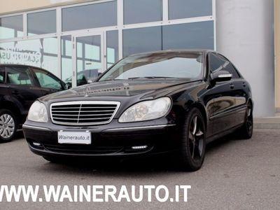 usata Mercedes S320 CDI cat SOSPENSIONI NAVI XENO PDC CERCHI 18