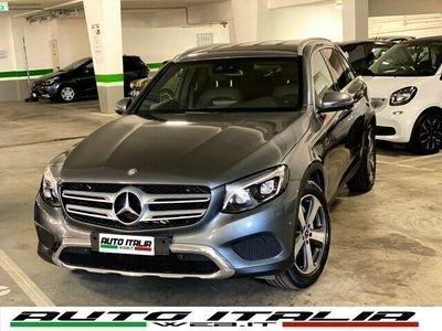 usata Mercedes GLC220 d 4Matic Exclusive#PELLEBROWN#LED#PACKLUCI#XENO
