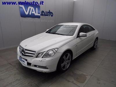 usata Mercedes E220 CDI COUPE' BLUEFF. CV170-Da preparare!!! rif. 7101419