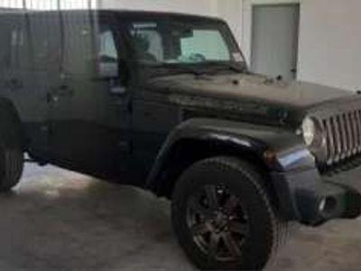 usata Jeep Wrangler Unlimited 2.8 CRD DPF Golden Eagle Diesel