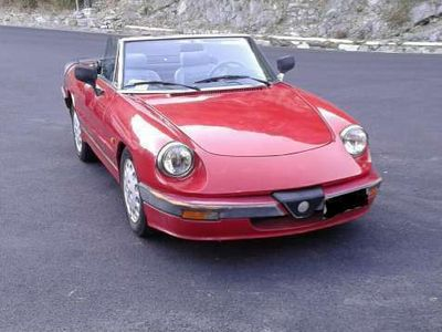 usata Alfa Romeo 2000 Spider quadrifoglio verde
