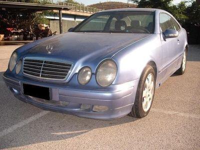 usata Mercedes CLK200 Classe Coupè Kompressor Cat Elegance Usato