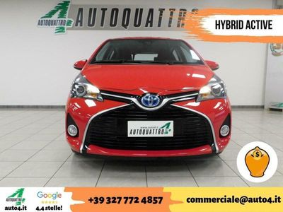 usata Toyota Yaris Hybrid usata 1.5 5 porte Active