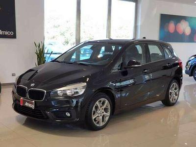 usata BMW 218 Active Tourer D Sport Automatica Black 2016