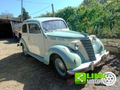 usado Fiat 1100 E, anno 1950, ottima base di restauro, motore perfetto, iscritto ASI, un gioiello