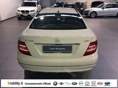 usata Mercedes C220 CDI BlueEFFICIENCY Coupé Avantgarde