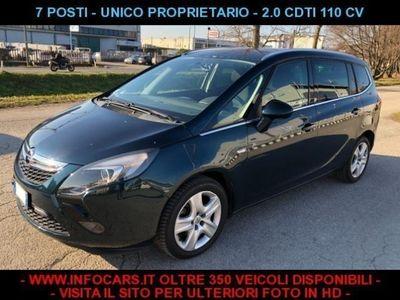 usata Opel Zafira Tourer 2.0 CDTi 110CV 7 POSTI