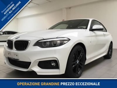 usata BMW 220 SERIE 2 COUPE D COUPE` M SPORT
