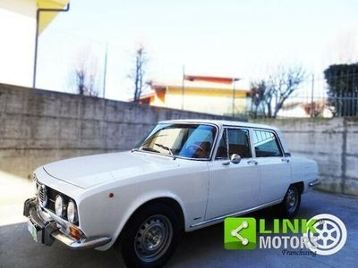 usata Alfa Romeo 2000 giuliaberlina certificata asi in perfette condizioni