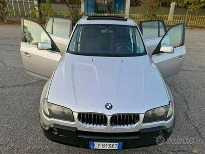 usata BMW X3 3.0 turbo diesel - euro 4 FAP