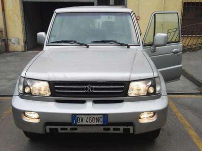 usata Hyundai Galloper G.P.L. 3.0i V6 24V cat Corto Innovation