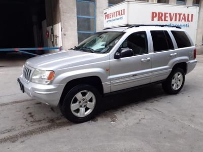 usata Jeep Grand Cherokee LIMITED 2.7 CRD FUL PELLE NUOVO