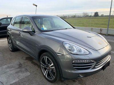 usata Porsche Cayenne 3.0 diesel uff italia approved iva esposta