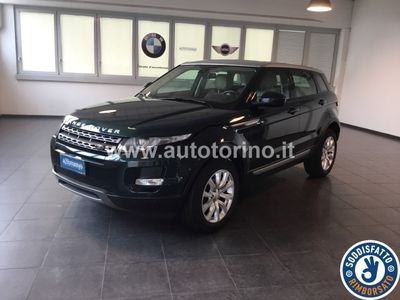 usata Land Rover Range Rover evoque EVOQUE 2.2 td4 Pure Tech Pack 150cv 5p auto 9m