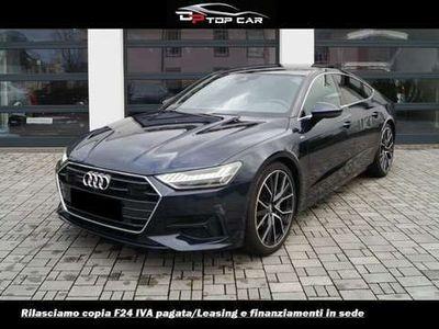 "usata Audi A7 SPB 50 3.0 TDI quattro S line B&O Matrix 360 21"""