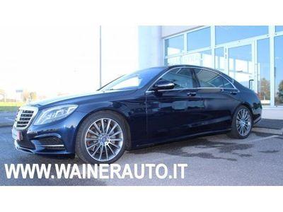 gebraucht Mercedes S500 4Matic Premium Lunga VISORE NOTTE 360 TELECAMERE