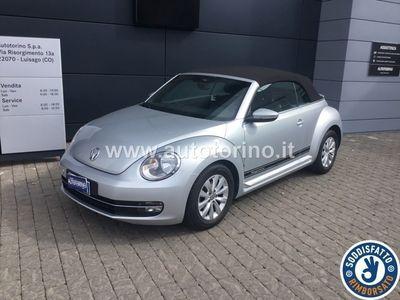 gebraucht VW Maggiolino MAGGIOLINOcabrio 1.6 tdi Design 105cv dsg