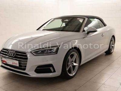 usata Audi A5 Cabriolet A5 Cabrio 2.0 TDI 190 CV S tronic Business Sport
