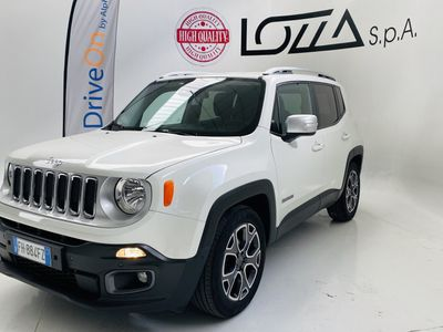 usata Jeep Renegade 1.6 MJet DDCT 120cv Limited