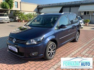 usata VW Touran 1.4 TSI 150cv DSG HIGHLINE BENZ/ METANO 7 POSTI