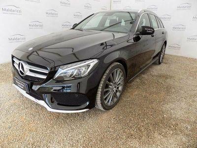 usata Mercedes C220 Classe C (W/S205)d S.W. Automatic Premium