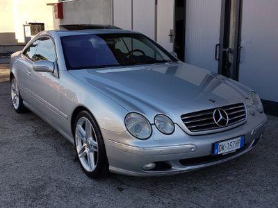 używany Mercedes CL500 V8