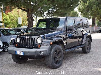used Jeep Wrangler Unlimited Wrangler2.8 CRD DPF Sahara Auto