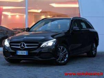 usata Mercedes C200 C220 d S.W. 4Matic Auto Sport Eu6 Diesel