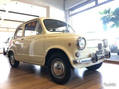 """usado Fiat 600D """"fanalona"""" in perfetto stato"""