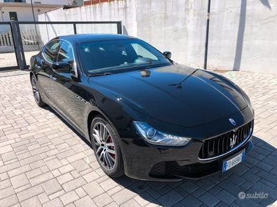 usata Maserati Ghibli 3.0 v6 diesel 250cv sport navi xen