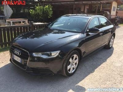 usata Audi A6 3.0 TDI 204 CV AUTOM NAVI PELLE PACK INVERNO Roma