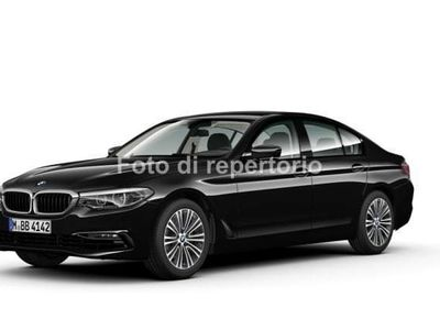 usata BMW 518 SERIE 5 BERLINA Serie 5 d Automatic Sport Line