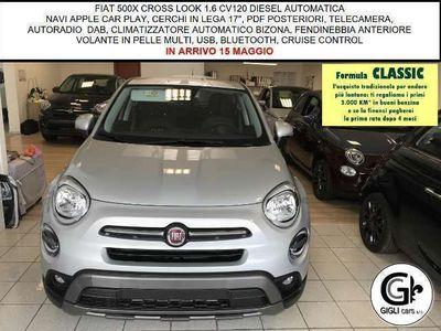 usata Fiat 500X Cross Look 1.6 CV120 Autom AppleNAVI Cerchi17 Came