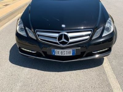 usata Mercedes E220 CDI Cabrio BlueEFFICIENCY Executiv
