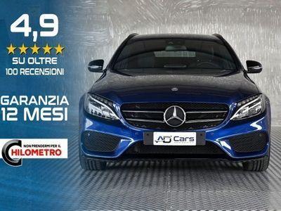 usata Mercedes C220 d S.W. Automatic Premium AMG Black Line