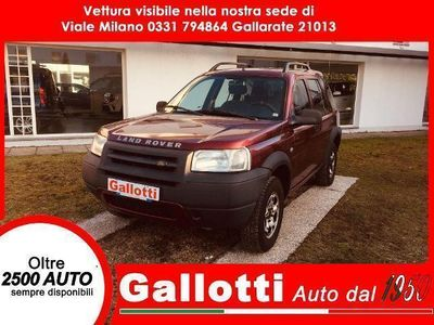 usado Land Rover Freelander 1.8 cat Station Wagon XE