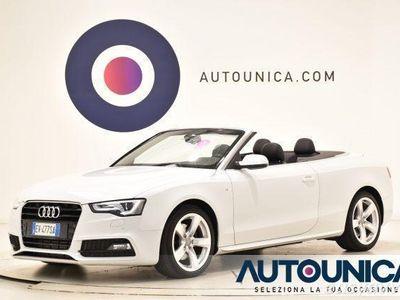 gebraucht Audi A5 Cabriolet 2.0 tdi s-line autom navi sens cruise led diesel