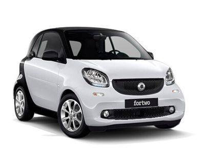 brugt Smart ForTwo Coupé 90 0.9 Turbo twinamic Tokyowhite