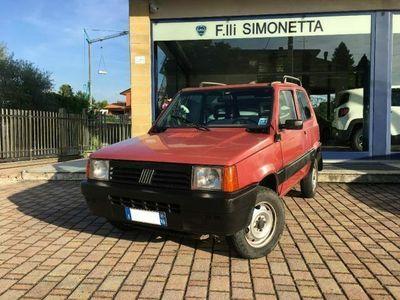 usata Fiat Panda 4x4 1100 i.e. cat Trekking - GANCIO TRAINO!