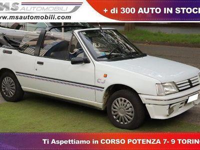used Peugeot 205 1.1i cat Cabriolet CJ Unicoproprietario