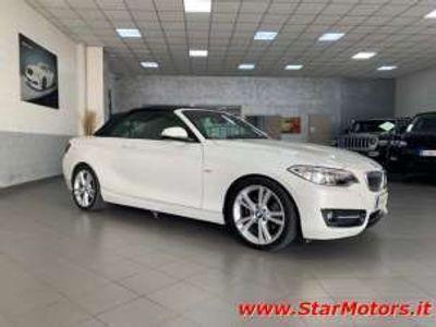 usata BMW 220 Cabrio Sport*AUTOM*PELLE XENO+LED Diesel