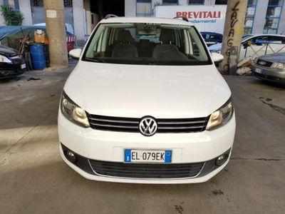 usata VW Touran 1.6 tdci cambio dsg 7 posti tagliandi Vw NUOVA
