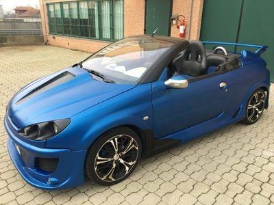 usata Peugeot 206 CC 1.6 Hdi 110cv CHD Maxi Omologata km 137.000 Unica