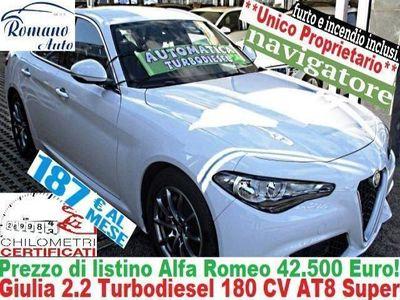 begagnad Alfa Romeo Giulia 2.2 Turbodiesel 180 CV AT8 Super