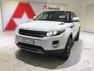 brugt Land Rover Range Rover evoque 2.2 eD4 Coupé Black & White Limited Ed.