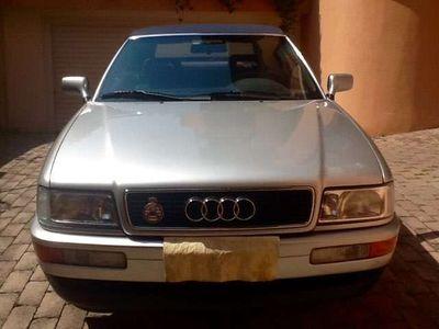 usata Audi 80 Cabrio 2.0 E iscritta ASI Crs