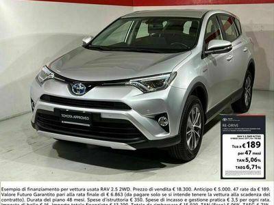 usata Toyota RAV4 2.5 hybrid Active Navi 2wd e-cvt