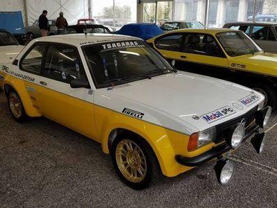 usado Opel Ascona gruppo 2 rally pista salita