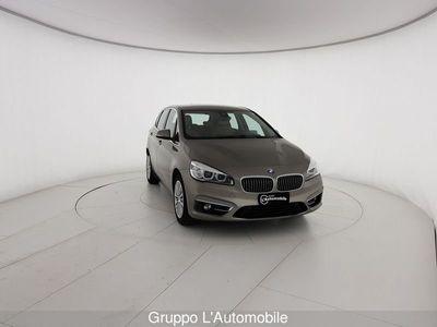 usata BMW 220 Serie 2 Active Tourer F45 2014 d act.tourer xdrive Luxury auto